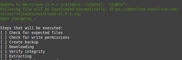 Nextcloud 21.0.1 ist verfügbar