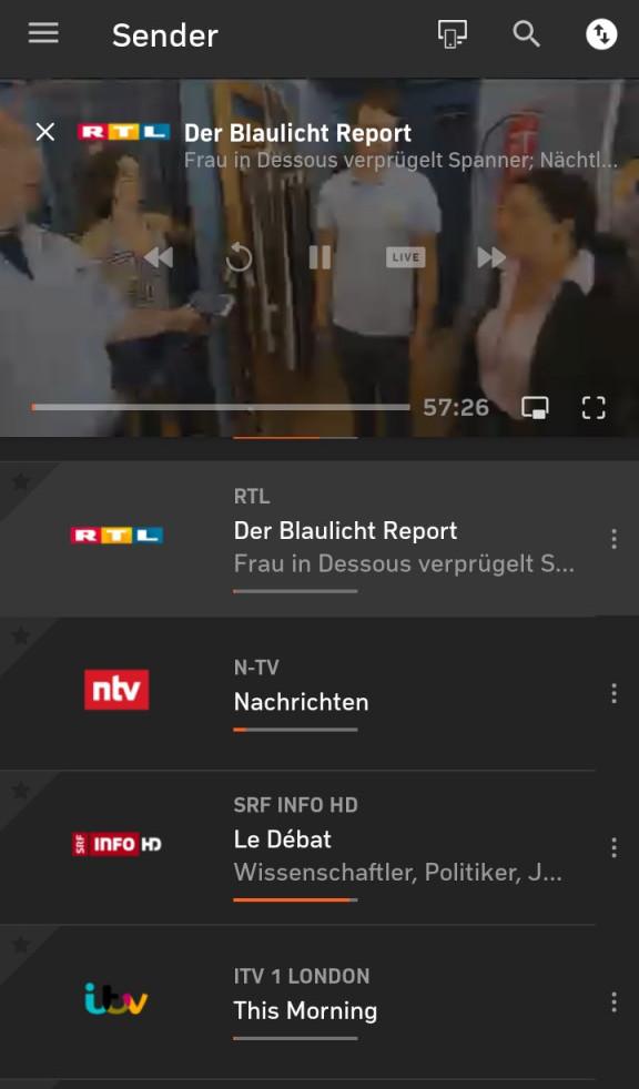 RTL Stream funktioniert