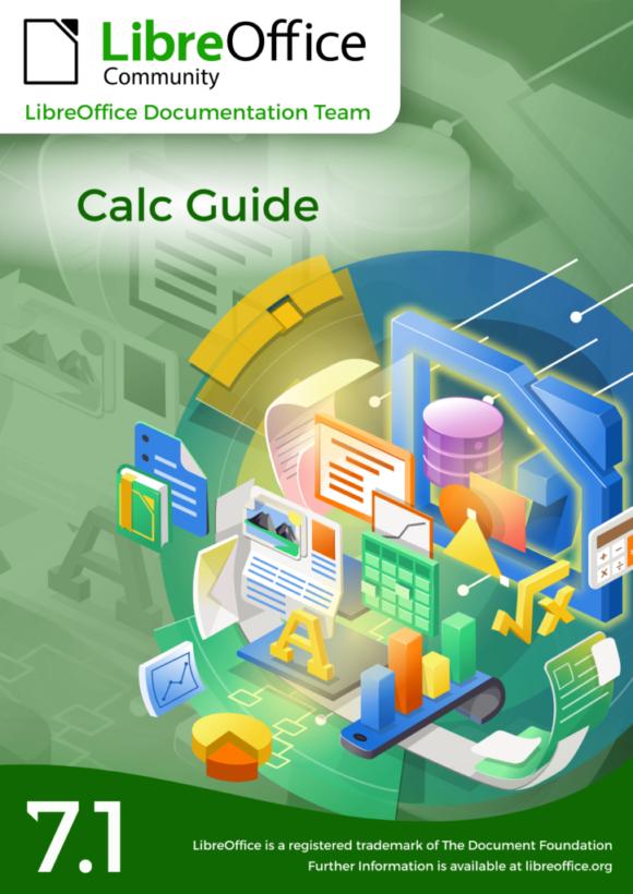 LibreOffice Calc Guide 7.1 ist da