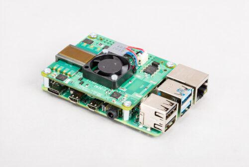Der neue Raspberry Pi PoE+ HAT (Quelle: raspberrypi.org)