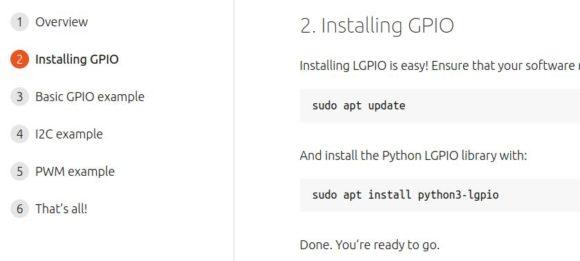 Ubuntu 21.04 unterstützt die GPIO Pins des Raspberry Pi