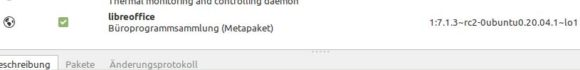 LibreOffice-Update via PPA ist schon da …