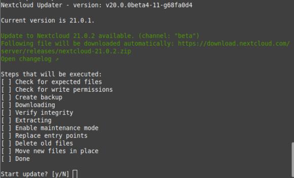 Nextcloud 21.0.2 ist verfügbar