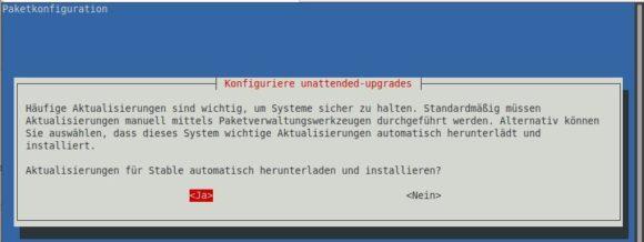 Automatische Updates bei Raspberry Pi OS aktivieren
