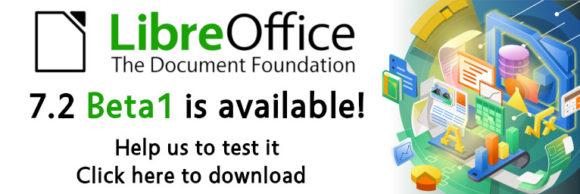 LibreOffice 7.2 Beta 1 ist verfügbar (Quelle: documentfoundation.org)