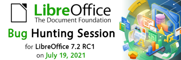Bug Hunting Session für LibreOffice 7.2 (Quelle: documentfoundation.org)