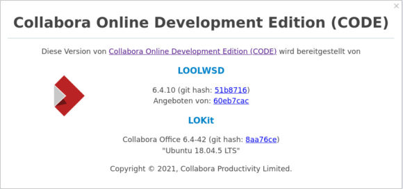 CODE 6.4.10 ist veröffentlicht