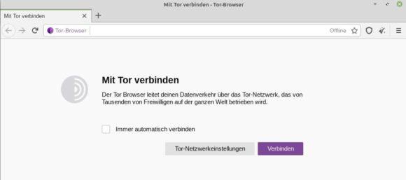Verbindung zum Tor-Netzwerk benutzerfreundlicher