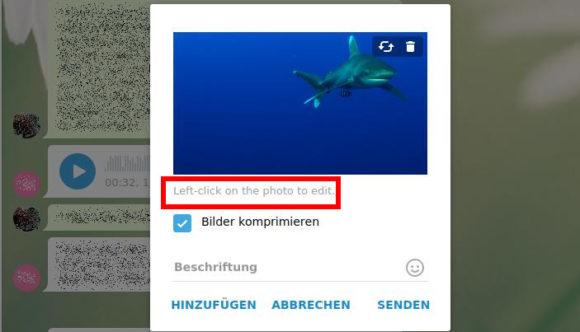 Klicke mit Links in das Bild, um den Bildbearbeitungs-Modus zu öffnen