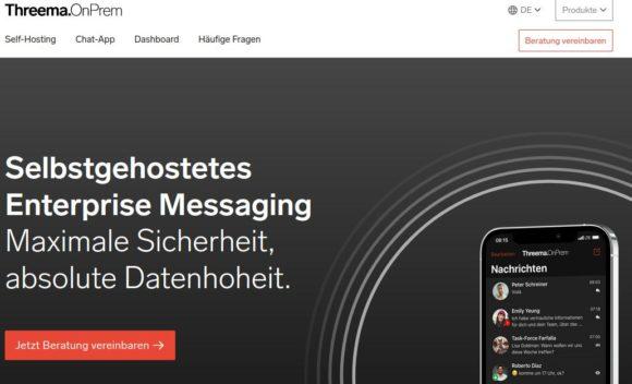 Threema OnPrem – Messaging-Infrastruktur selbst hosten