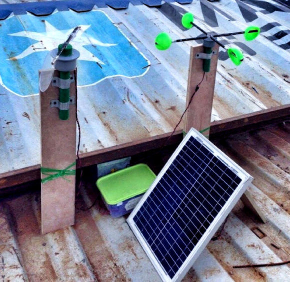 Wetterstation mit Rasberry Pi – die Brotzeit-Box hält die Hardware trocken (Quelle: raspberrypi.org)