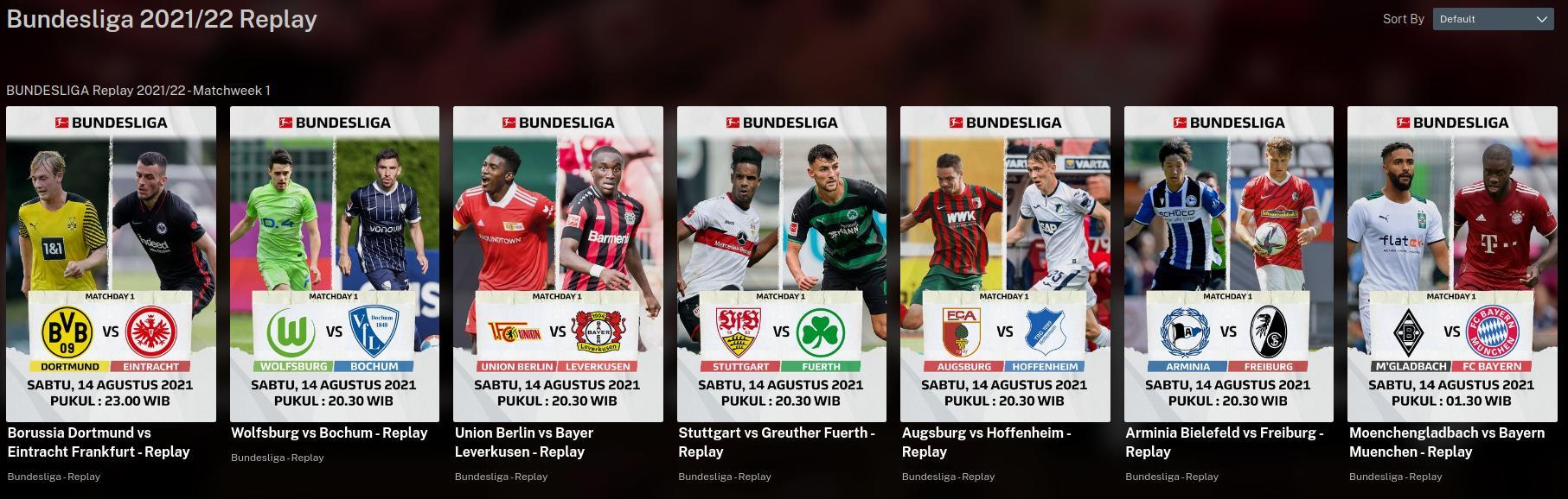 Mola.tv Replay – alle Bundesliga-Spiele als Wiederholung schauen