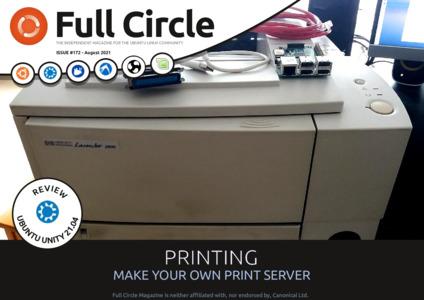 Full Circle Magazine #172 ist da (Quelle: fullcirclemagazine.org)