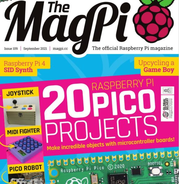 Das MagPi 109 ist da – mit 20 Projekten für den Pico