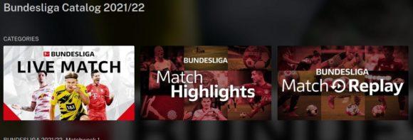 Live, Highlights und Wiederholung der Bundesliga-Spiele!