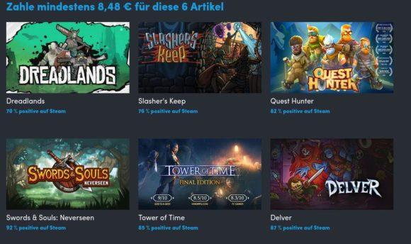 6 RPG-Spiele für 8,50 Euro? Bin ich dabei!
