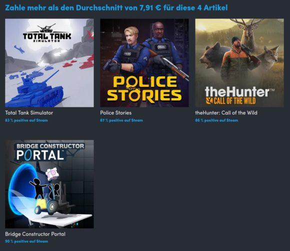 Police Stories in Stufe 2
