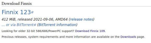 Finnix 123 basiert nicht wie üblich auf Debian Testing