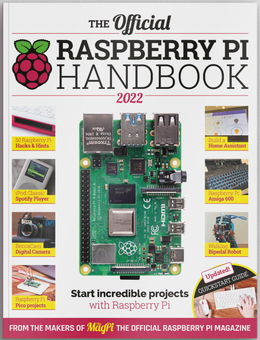 Raspberry Pi Handbook 2022 ist da