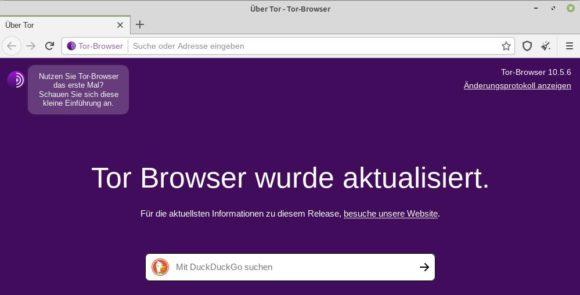 Tor Browser 10.5.6 ist da