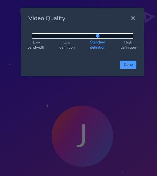 Videoqualität einstellen